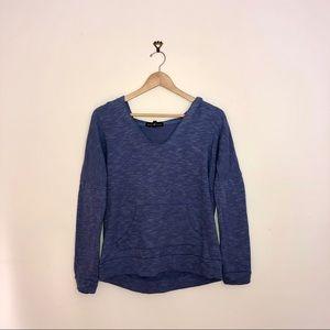 Derek Heart blue sweatshirt